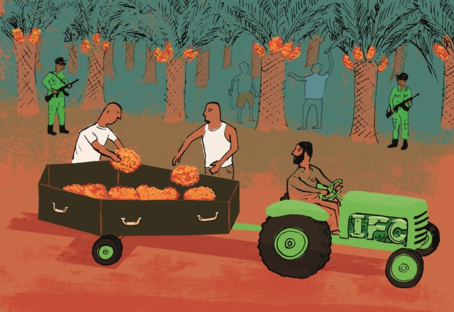 January 2014 Observer main illustration IFC Honduras human rights
