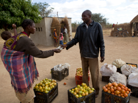 A small business, Zambia. Credit: CAFOD