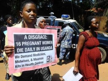 Healthcare protest, Uganda 2012. Credit: paper-bird.net