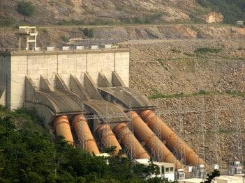 Ghana hydro power plant. Credit: Arne Hoel/The World Bank