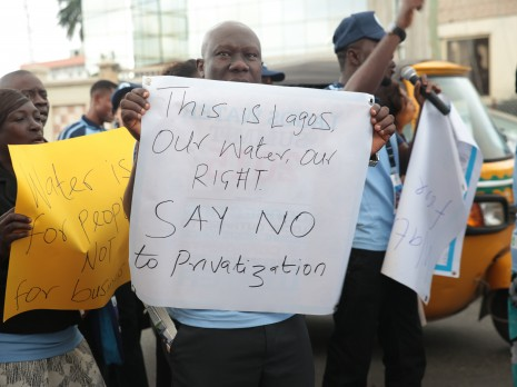 Lagos water summit in August 2015. Credit: Babawale Obayanju
