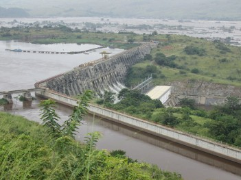 The Inga 1 hydropower project, Democratic Republic of Congo. Photo: International Rivers