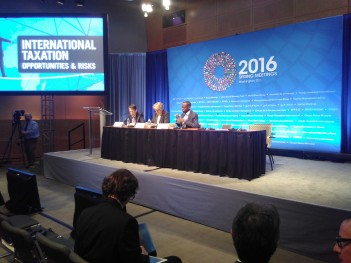IMF Fiscal Forum Spring 2016