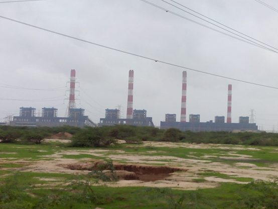 Mundra coal-fired power plant at Mundra, Gujarat, India. Credit Nizil Shah