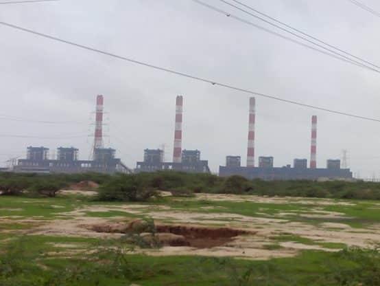 Mundra coal-fired power plant at Mundra, Gujarat, India. Credit Nizil Shah