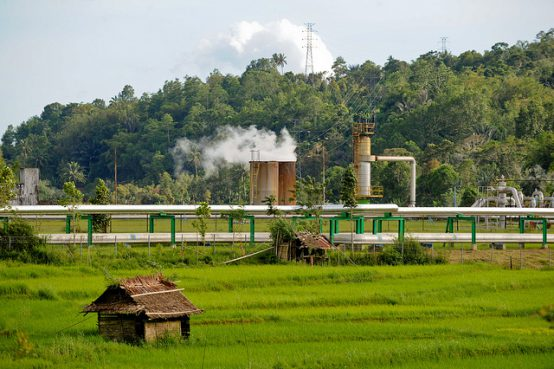 Lahendong geothermal power plant, Manado, Indonesia. Credit: Asian Development Bank