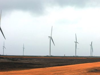 Wind turbines in Thatta District, Pakistan. Credit: Asian Development Bank