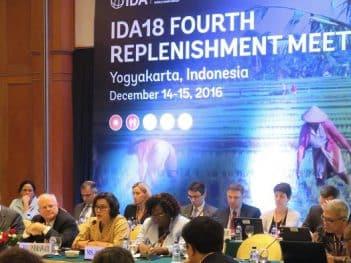 AID18, cuarta reunión de reposición en Indonesia. Crédito: Heri Purwata en Crowdponent