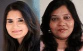 Simran Sachdev y Jayshree Satpute de Nazdeek