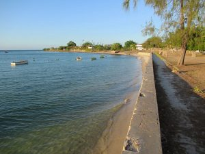Coast in Mozambique