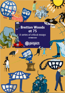 cover of BWP publication: Bretton Woods at 75