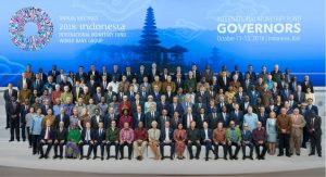 IMF Board of Governors, Bali, Indonesia, 2018