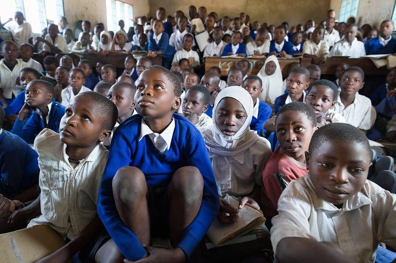 Kasimba Prinary School, Mpanda District, Katavi Region, Tanzania. August 2019.