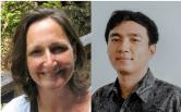 Fran Witt (Recourse) and Andri Prasetiyo (Trend Asia)